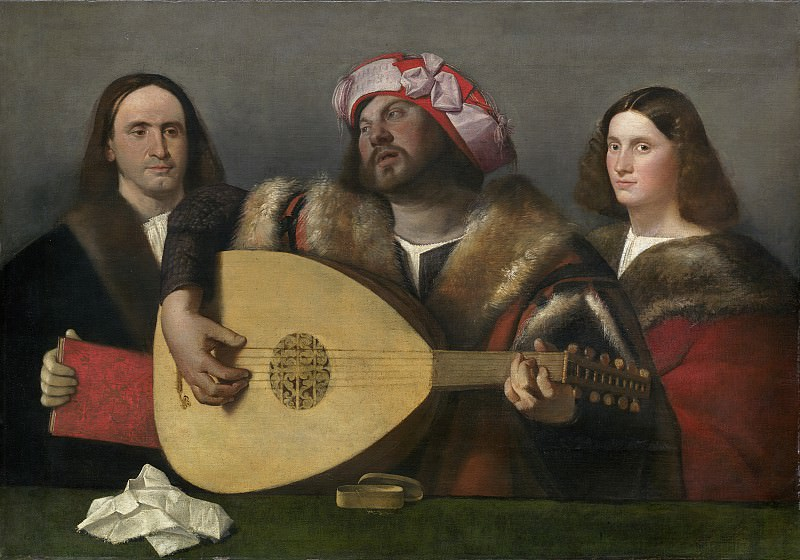 Cariani - A Concert. National Gallery of Art (Washington)