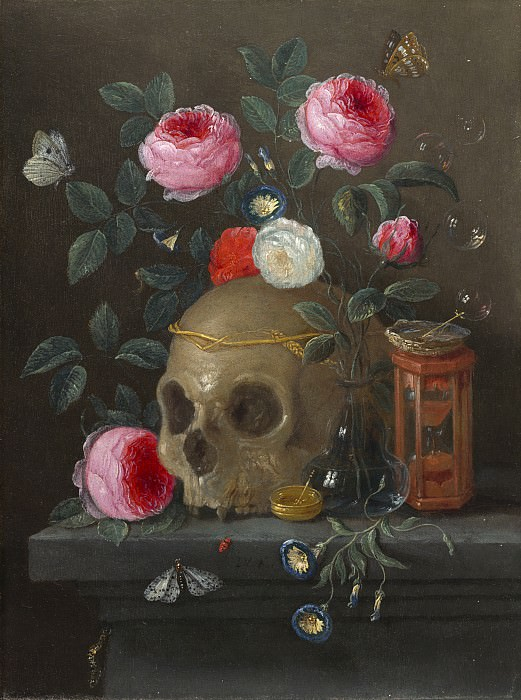 Jan van Kessel - Vanitas Still Life. National Gallery of Art (Washington)
