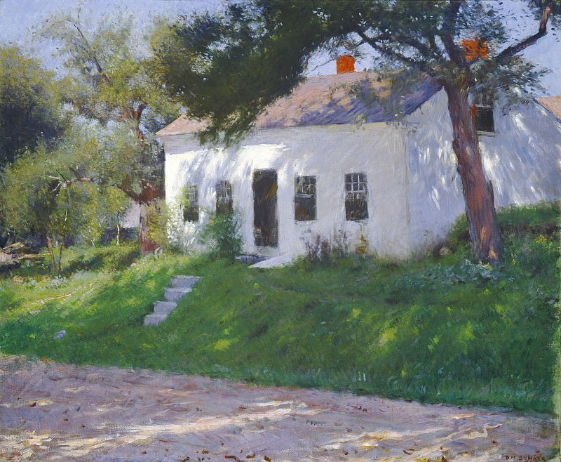 Dennis Miller Bunker - Roadside Cottage. National Gallery of Art (Washington)