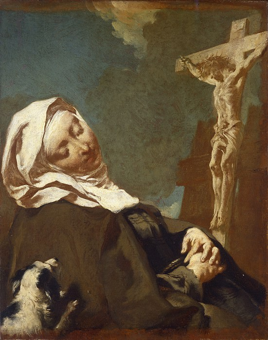 Giovanni Battista Piazzetta - Saint Margaret of Cortona. National Gallery of Art (Washington)