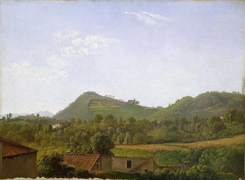 Simon Denis - View near Naples. National Gallery of Art (Washington)