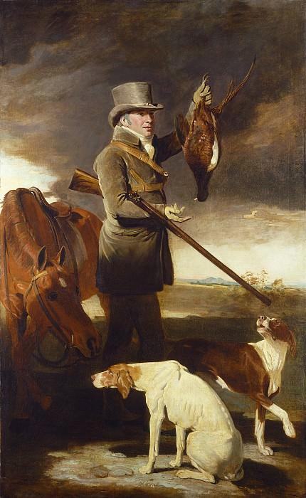 Маршалл, Бенджамин - Джей Джи Шаддик, известый охотник. Национальная галерея искусств (Вашингтон)