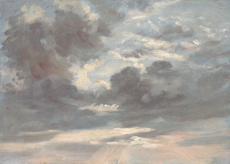 John Constable - Cloud Study: Stormy Sunset. National Gallery of Art (Washington)