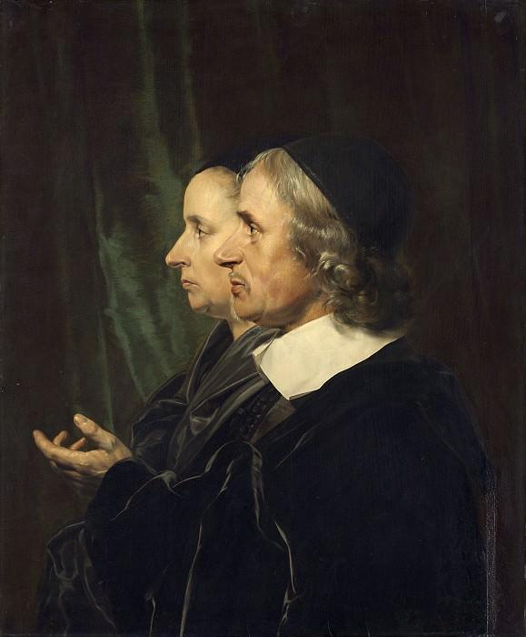 Брай, Ян де - Портрет родителей художника, Соломон де Брай и Анна Вестербан. Национальная галерея искусств (Вашингтон)
