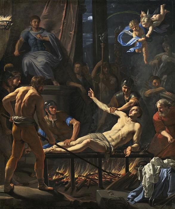 Jean-Baptiste de Champaigne - The Martyrdom of Saint Lawrence. National Gallery of Art (Washington)