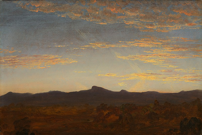 "Thomas Cole - Study for ""Catskill Creek"". National Gallery of Art (Washington)"