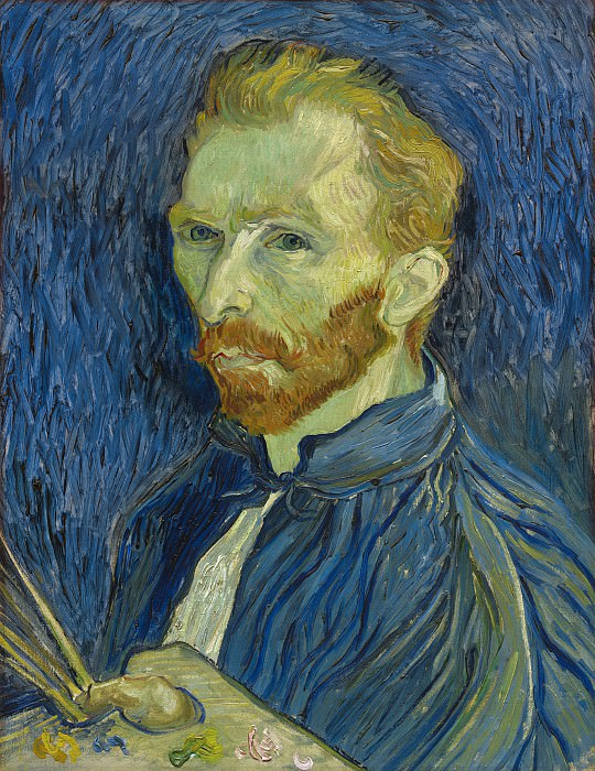 Vincent van Gogh - Self-Portrait. National Gallery of Art (Washington)