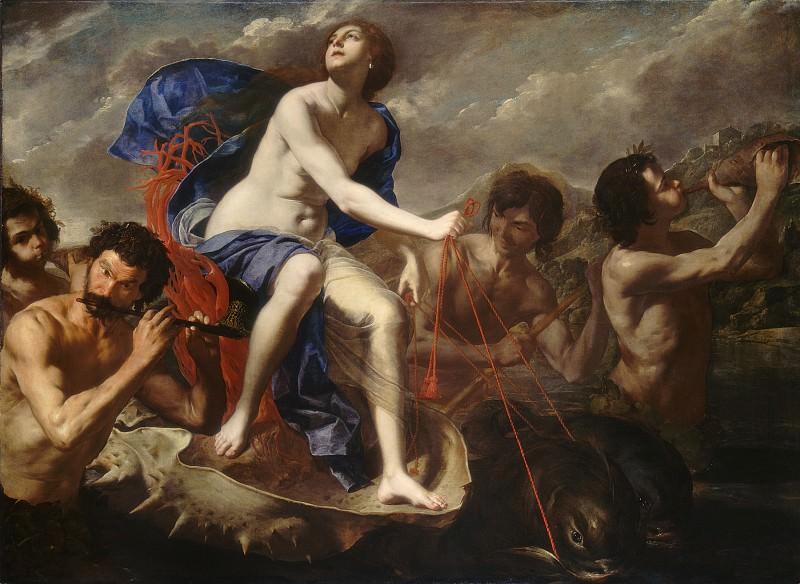 Каваллино, Бернардо - Триумф Галатеи. Национальная галерея искусств (Вашингтон)
