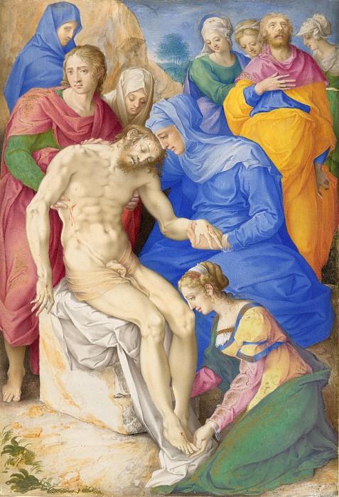 Giulio Clovio - The Lamentation. National Gallery of Art (Washington)