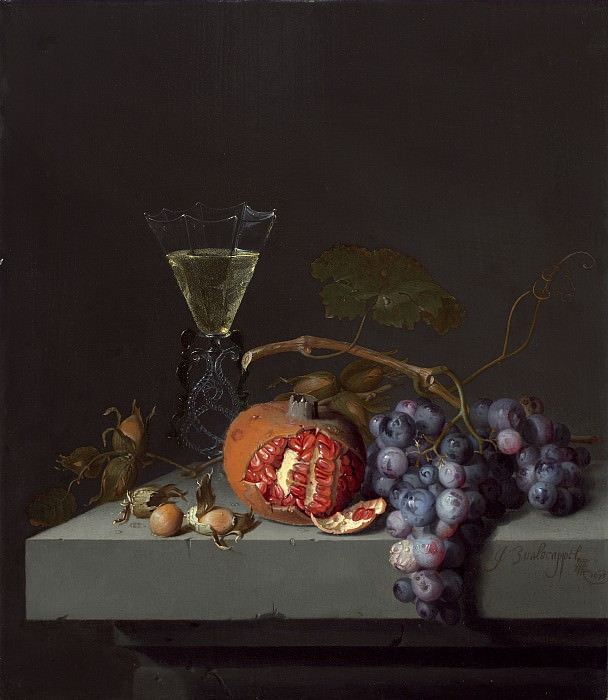 Jacob van Walscapelle - Still Life with Fruit. National Gallery of Art (Washington)