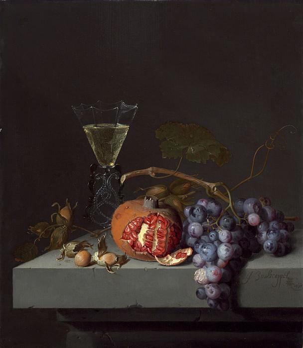 Вальскапелле, Якоб ван - Натюрморт с фруктами. Национальная галерея искусств (Вашингтон)