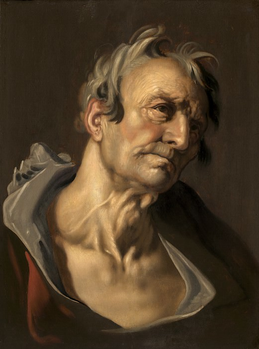 Abraham Bloemaert - Head of an Old Man. National Gallery of Art (Washington)