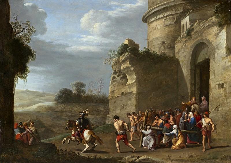 Cornelis van Poelenburch - Christ Carrying the Cross. National Gallery of Art (Washington)