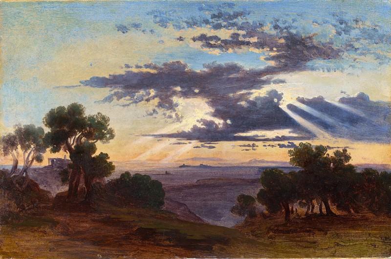 Johann Jakob Frey - Sunrise. National Gallery of Art (Washington)