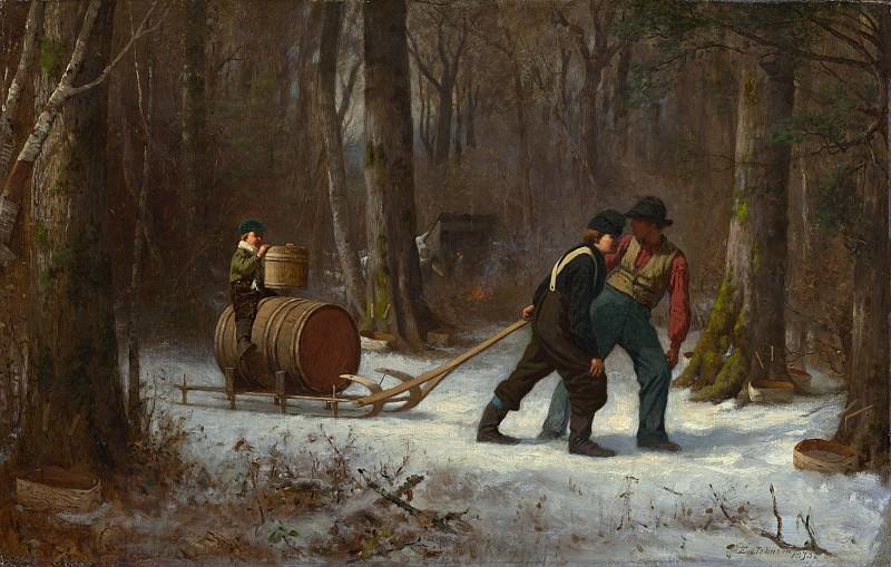 Джонсон, Истмен - По пути в лагерь. Национальная галерея искусств (Вашингтон)
