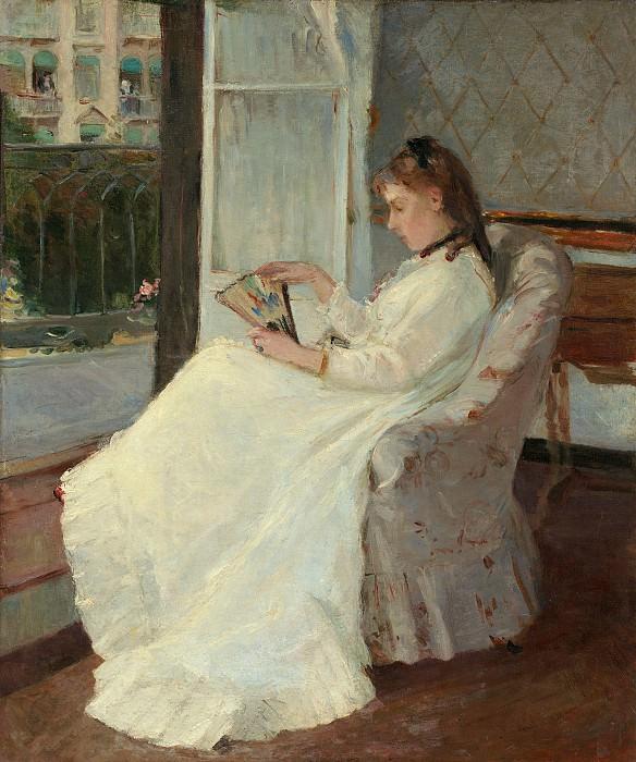 Berthe Morisot - The Artist's Sister at a Window. National Gallery of Art (Washington)