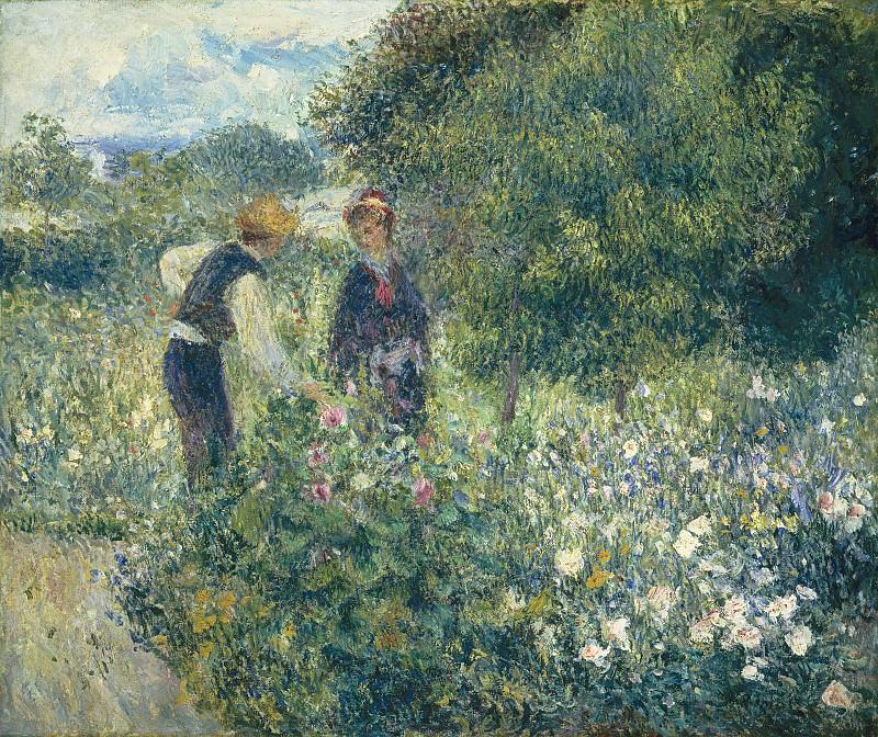 Auguste Renoir - Picking Flowers. National Gallery of Art (Washington)