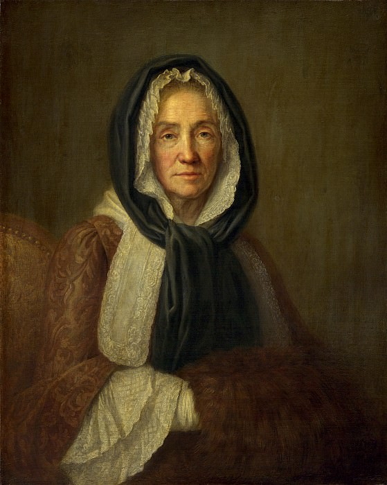 French 18th Century - Old Woman with a Muff. National Gallery of Art (Washington)