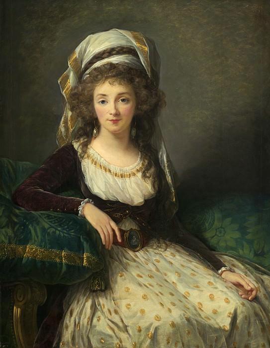 Madame d'Aguesseau de Fresnes. Élisabeth Louise Vigée Le Brun
