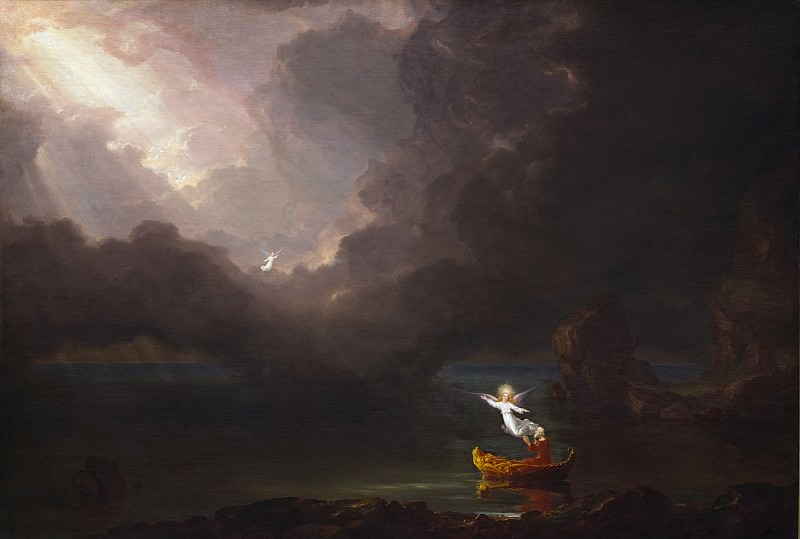 Thomas Cole - The Voyage of Life: Old Age. National Gallery of Art (Washington)