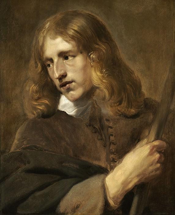 Саутман, Питер Клас - Молодой человек с посохом. Национальная галерея искусств (Вашингтон)