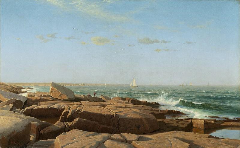 Хаселтайн, Уильям Стэнли - Залив Наррагансетт. Национальная галерея искусств (Вашингтон)
