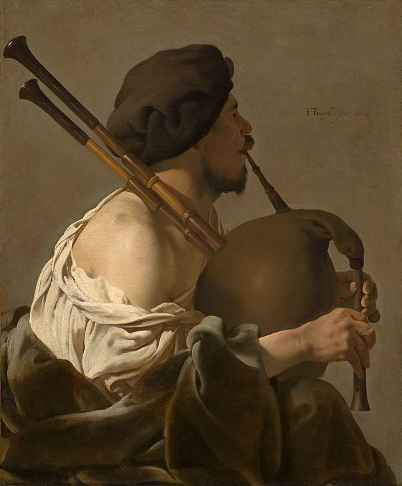 Hendrick ter Brugghen - Bagpipe Player. National Gallery of Art (Washington)