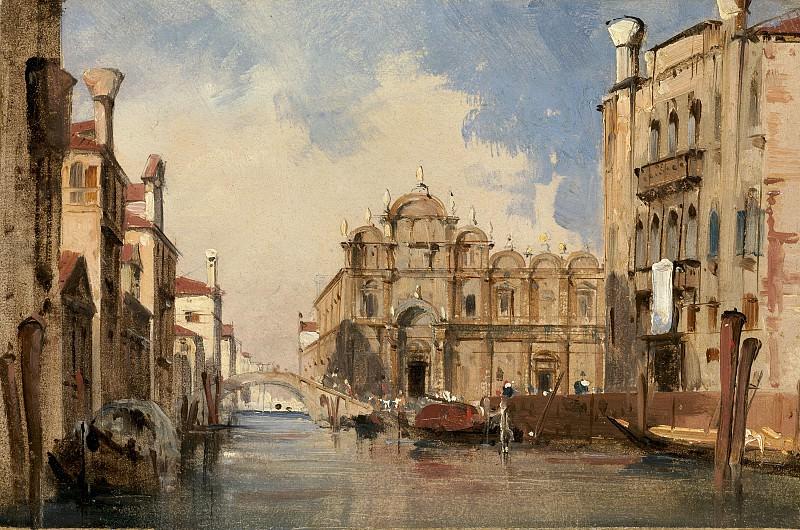 Jules-Romain Joyant - The Scuola di San Marco, Venice. National Gallery of Art (Washington)