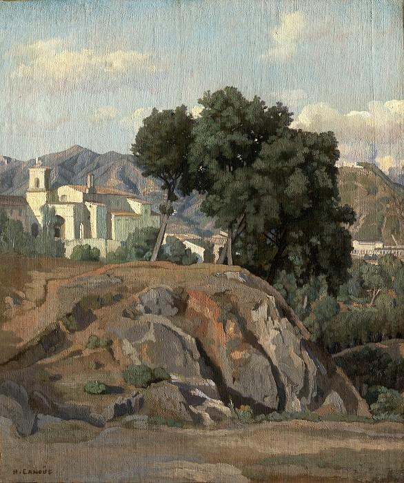 Лану, Феликс-Ипполит - Вид на Ла Кава. Национальная галерея искусств (Вашингтон)