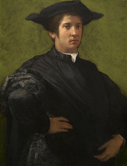 Rosso Fiorentino - Portrait of a Man. National Gallery of Art (Washington)