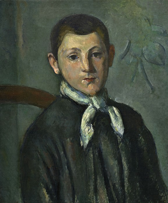 Paul Cezanne - Louis Guillaume. National Gallery of Art (Washington)