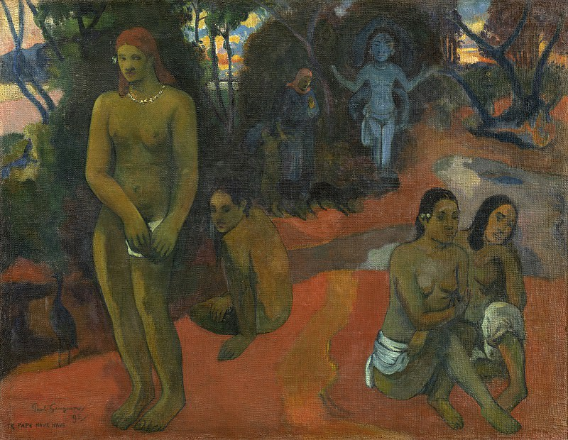 Paul Gauguin - Te Pape Nave Nave (Delectable Waters). National Gallery of Art (Washington)