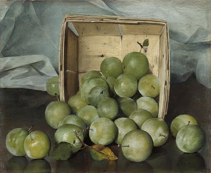 Joseph Decker - Green Plums. National Gallery of Art (Washington)