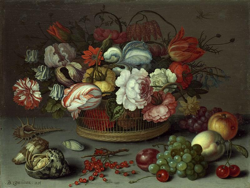Аст, Бальтазар ван дер - Корзина цветов. Национальная галерея искусств (Вашингтон)