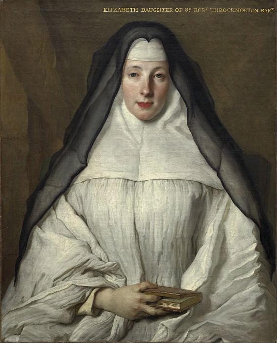Ларжильер, Никола де - Элизабет Трокмортон, канонисса ордена Августинских бритинианок. Национальная галерея искусств (Вашингтон)