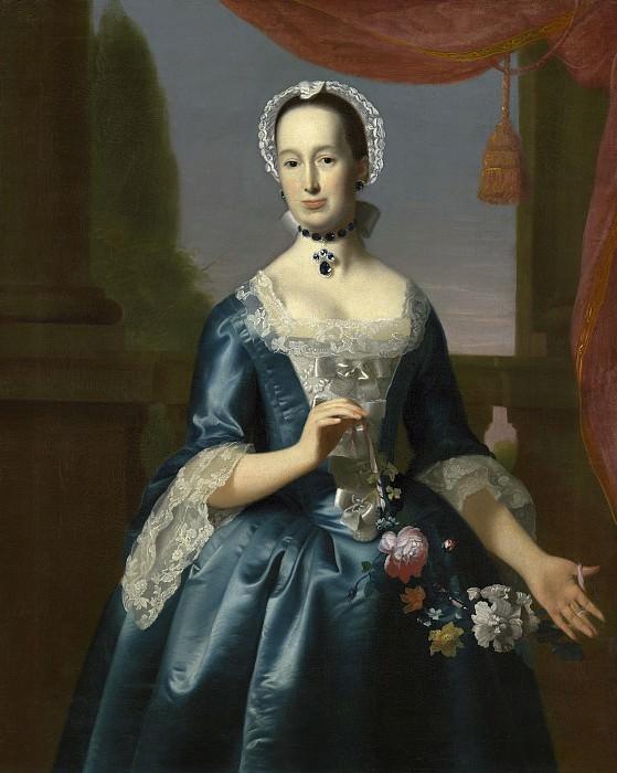 John Singleton Copley - Anne Fairchild Bowler (Mrs. Metcalf Bowler). National Gallery of Art (Washington)