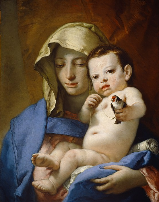 Giovanni Battista Tiepolo - Madonna of the Goldfinch. National Gallery of Art (Washington)