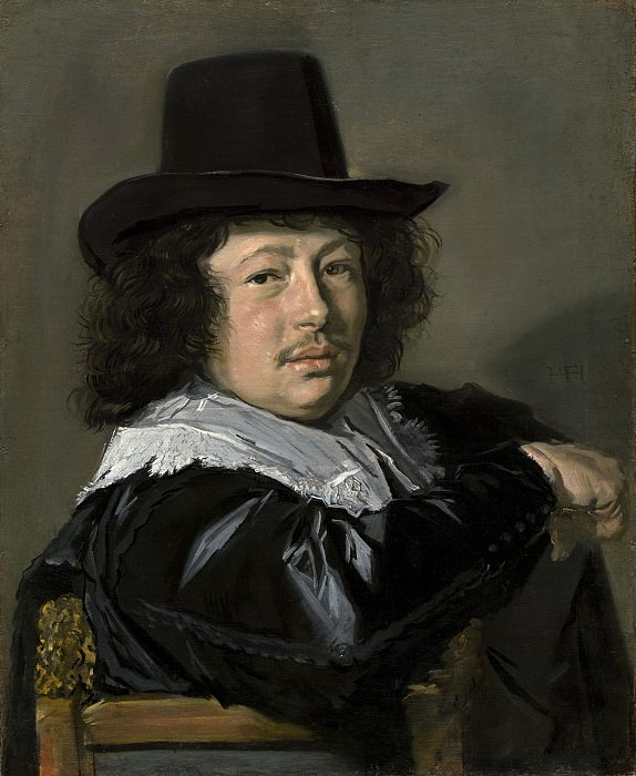 Frans Hals - Portrait of a Young Man. National Gallery of Art (Washington)