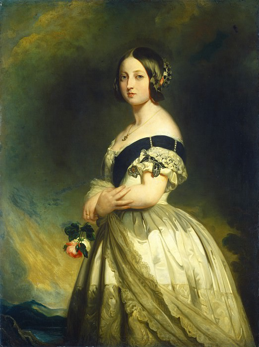 Studio of Franz Xaver Winterhalter - Queen Victoria. National Gallery of Art (Washington)