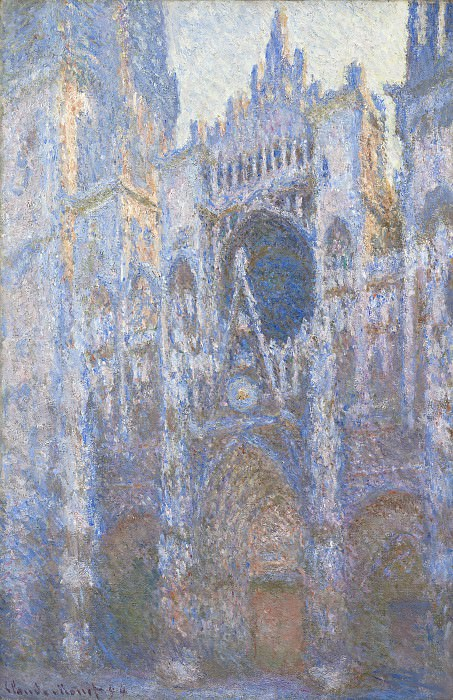 Claude Monet - Rouen Cathedral, West Facade. National Gallery of Art (Washington)