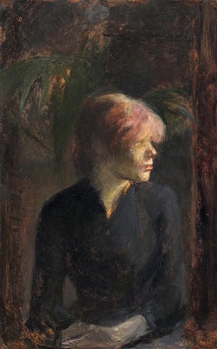 Henri de Toulouse-Lautrec - Carmen Gaudin. National Gallery of Art (Washington)