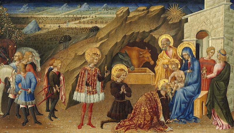 Giovanni di Paolo - The Adoration of the Magi. National Gallery of Art (Washington)