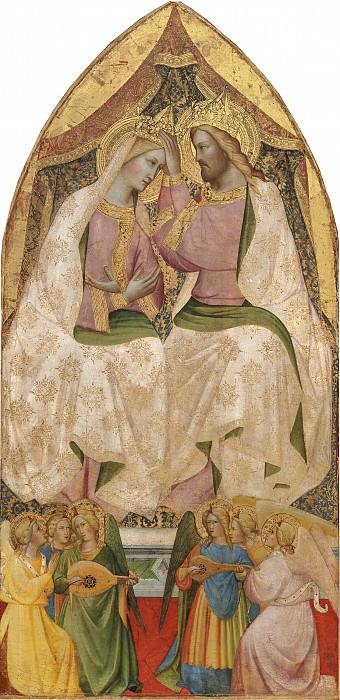 Agnolo Gaddi - The Coronation of the Virgin. National Gallery of Art (Washington)