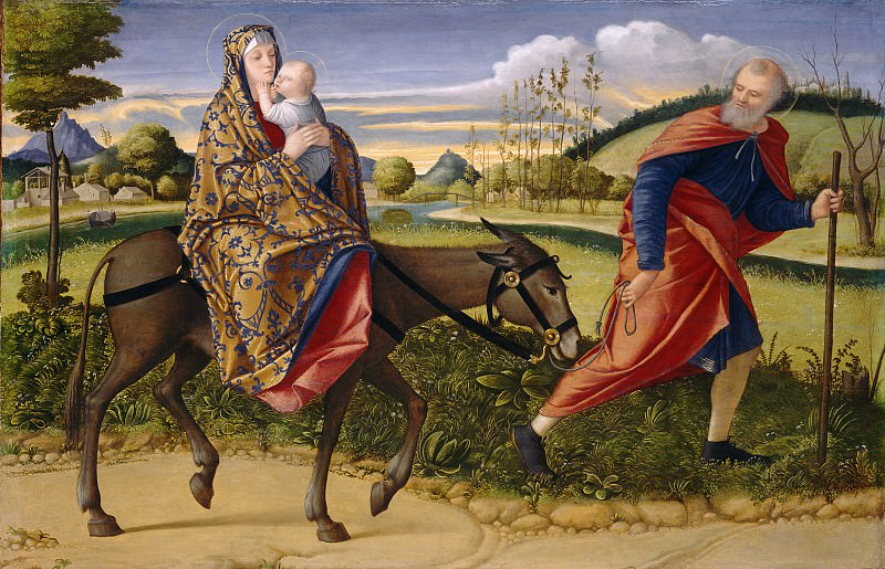 Vittore Carpaccio - The Flight into Egypt. National Gallery of Art (Washington)