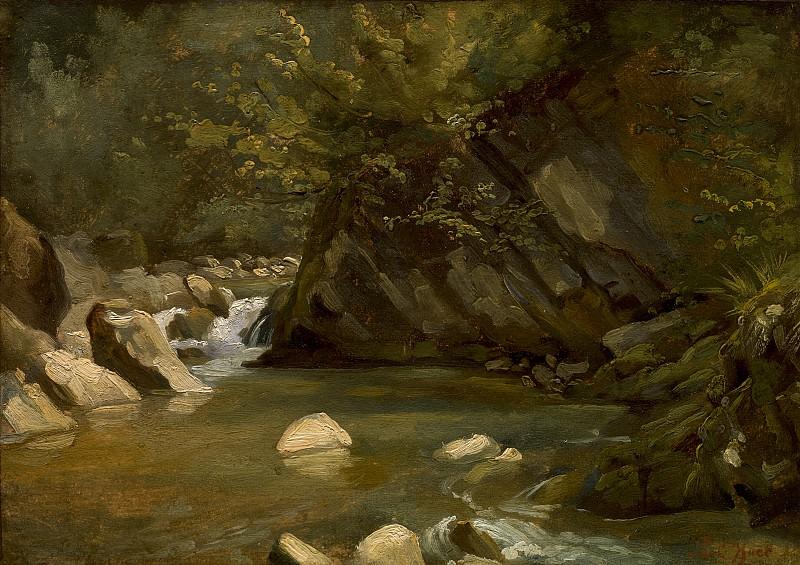 Paul Huet - Woodland Stream. National Gallery of Art (Washington)