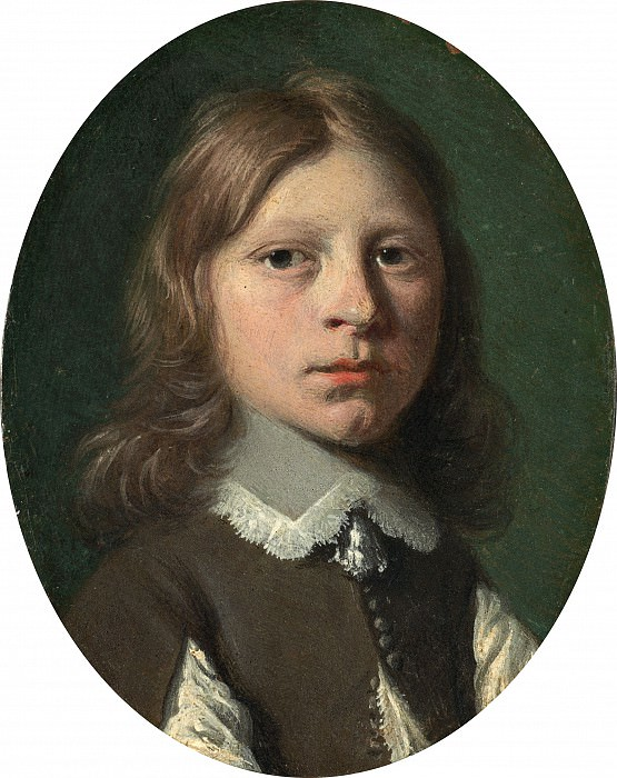 Jan de Bray - Head of a Small Boy. National Gallery of Art (Washington)