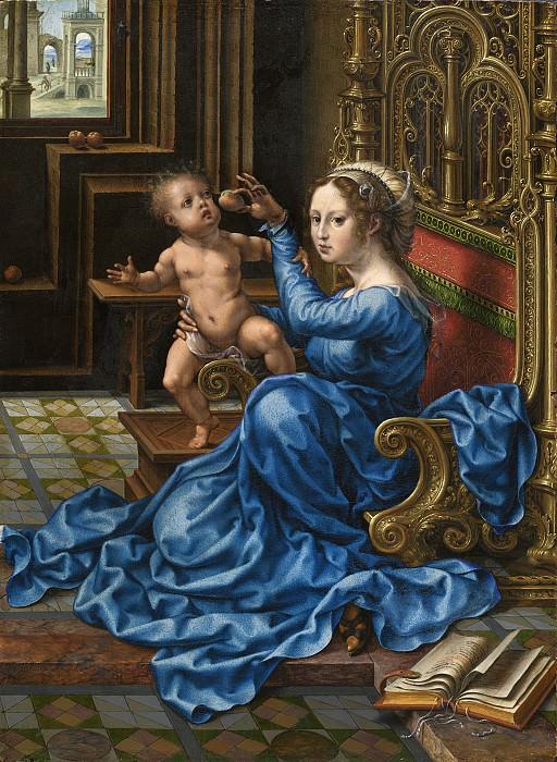 Jan Gossaert - Madonna and Child. National Gallery of Art (Washington)