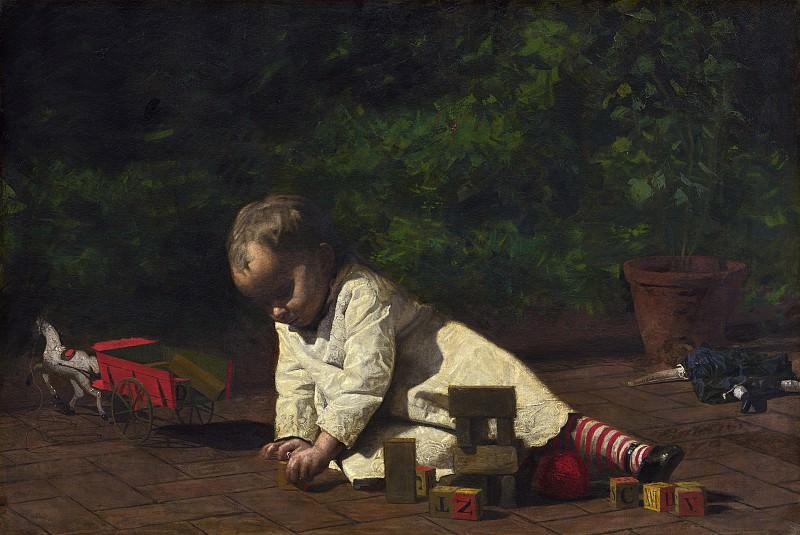 Thomas Eakins - Baby at Play. National Gallery of Art (Washington)