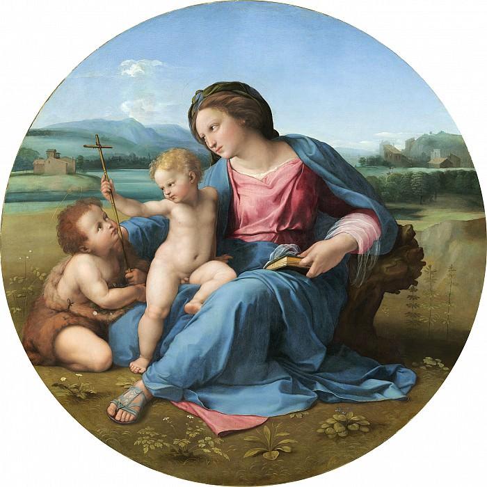 Raphael - The Alba Madonna. National Gallery of Art (Washington)