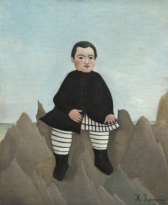 Henri Rousseau - Boy on the Rocks. National Gallery of Art (Washington)